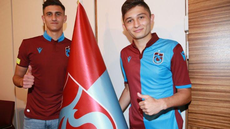 Trabzonspor çifte transferi açıkladı