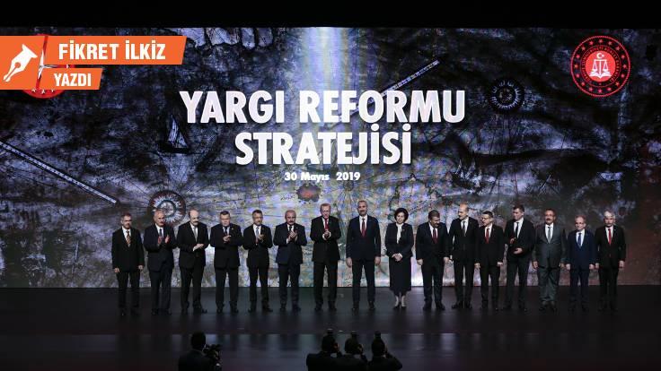 2019 Yargı Reformu Stratejisi üzerine