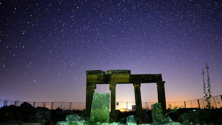 Antik kentin gökyüzü şöleni