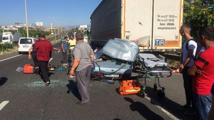 Manisa'da kazada aynı aileden altı kayıp