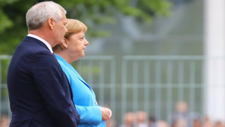 Üçüncü kez titreyen Merkel: Ben iyiyim