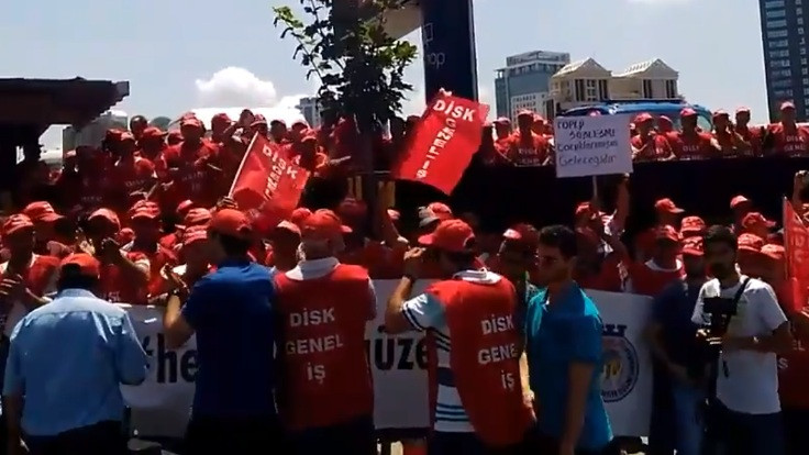 Ataşehir Belediyesi'nde grev kararı