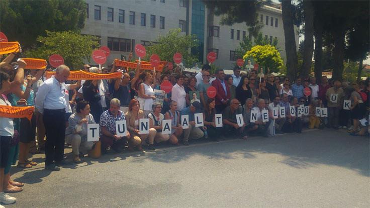Akademisyen Tuna Altınel'e tahliye kararı