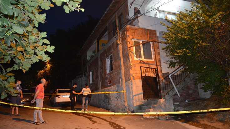 Beykoz'da eve molotoflu saldırı
