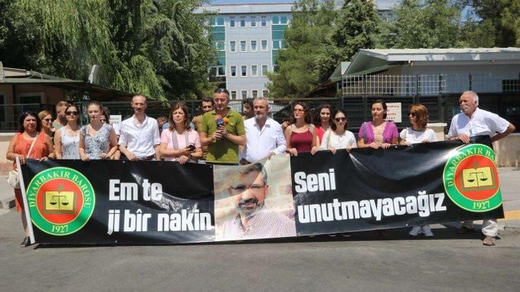 İzmir Barosu Başkanı Yücel: Tahir Elçi'nin katillerinin peşini bırakmayacağız