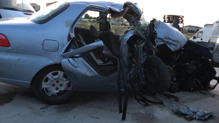 Edirne'de kaza: Dört ölü