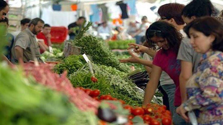 Enflasyon sepetindeki 418 üründen 243'ü zamlandı