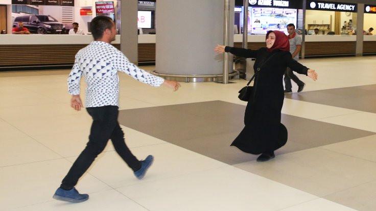 Serbest bırakılan gemiciler İstanbul'da
