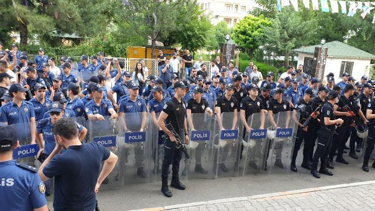 HDP'nin 'Savaşa Hayır' yürüyüşü engellendi