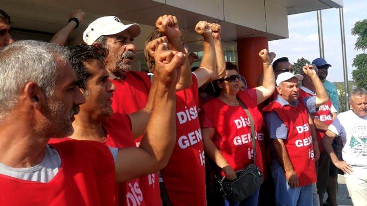 İşçilerin eylemi 64'üncü gününde