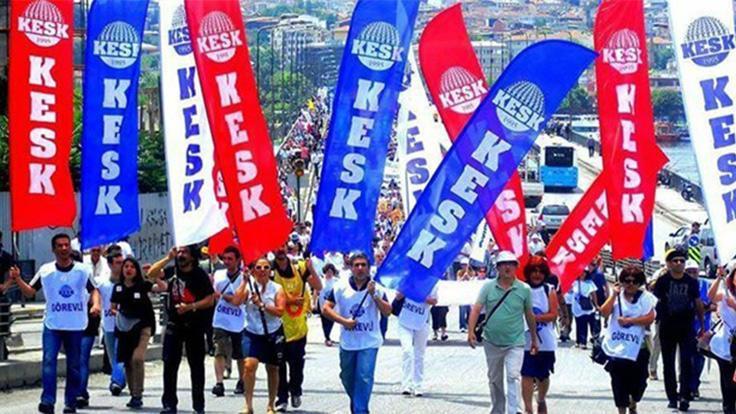 KESK, TİS için 4 koldan Ankara'ya yürüyecek