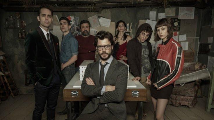 La Casa De Papel'in 4. sezonu için çalışmalar başladı