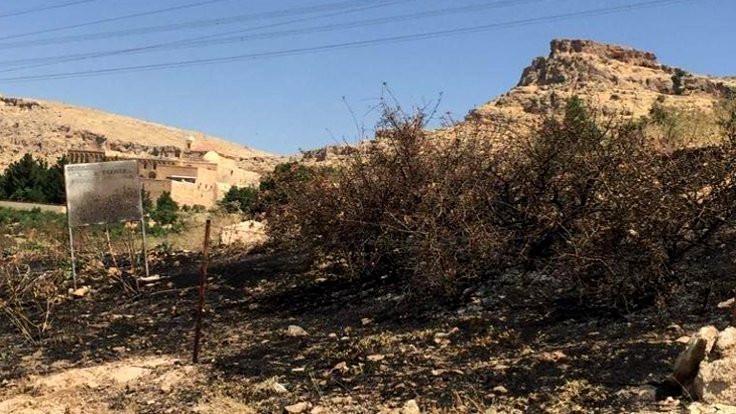İtfaiye: Manastırın ağaçları kundaklanmış olabilir