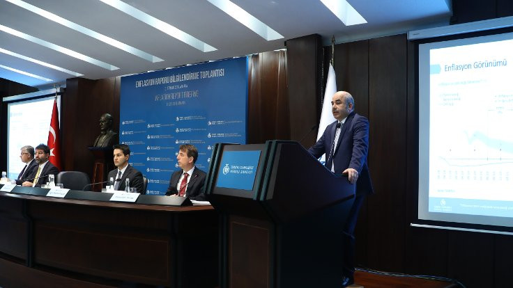 Merkez Bankası enflasyon hedefini yüzde 13,9'a çekti