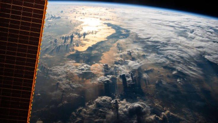 NASA paylaştı: 400 kilometreden Dünya