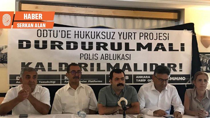 Meslek örgütleri: ODTÜ'de yurttan vazgeçilsin