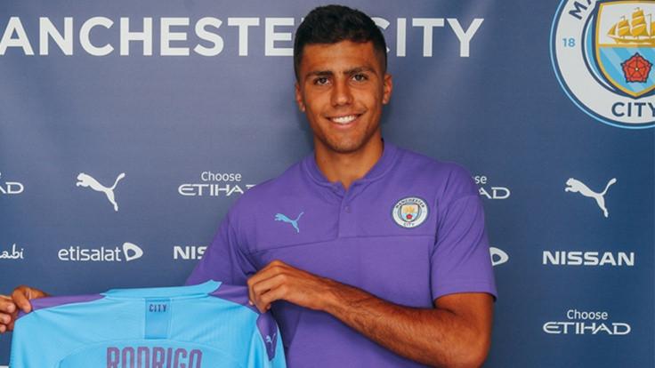 ManchesterCity, Rodrigo Hernandez'i transfer etti