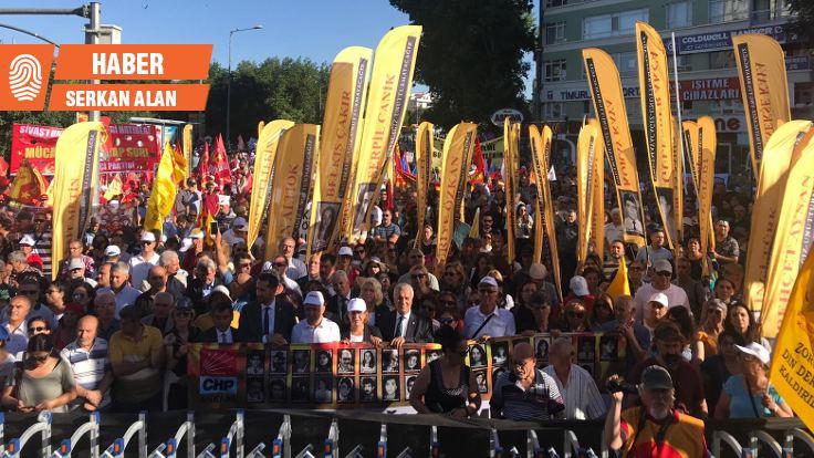 Ankara'da Sivas anması: Unutma, unutturma