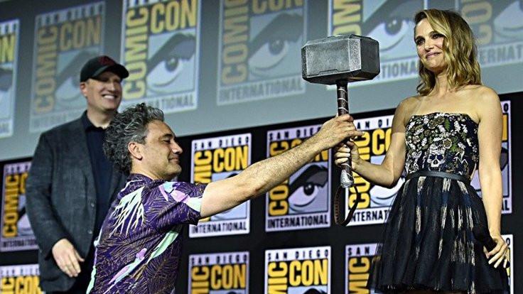Portman kadın Thor olacak