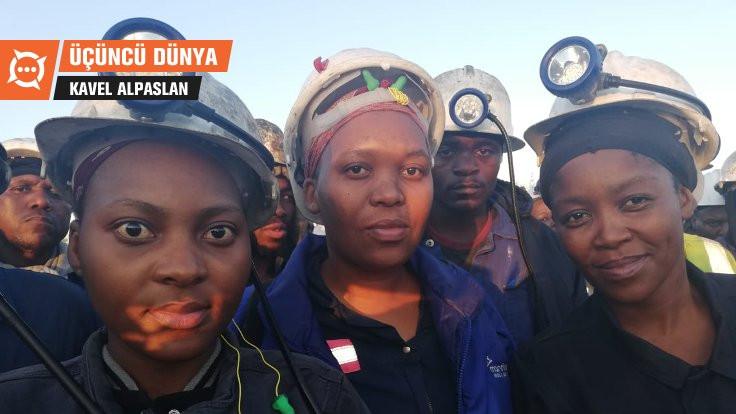 Üçüncü Dünya: Tacize karşı kapandıkları madenden 'eşitlik' pankartıyla çıktılar