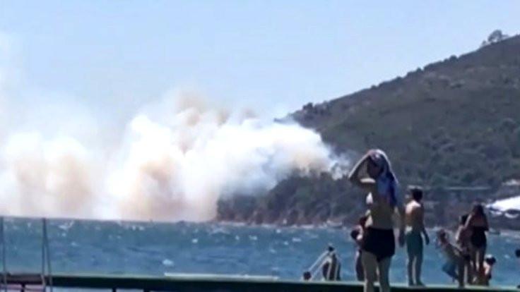 Burgazada'daki yangın söndü