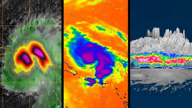 Kasırgadan yeni görüntüler