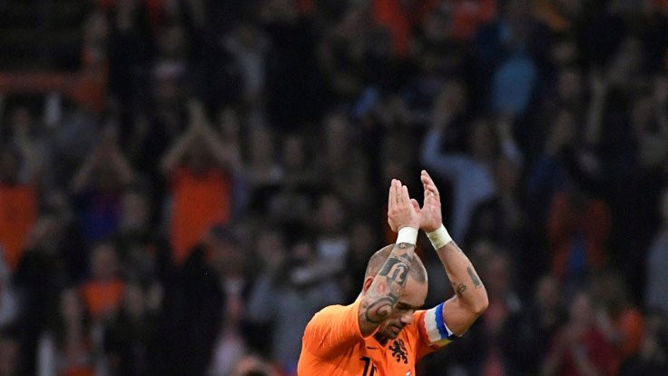 Sneijder'a veda: 'Büyük Dörtlü' bitti