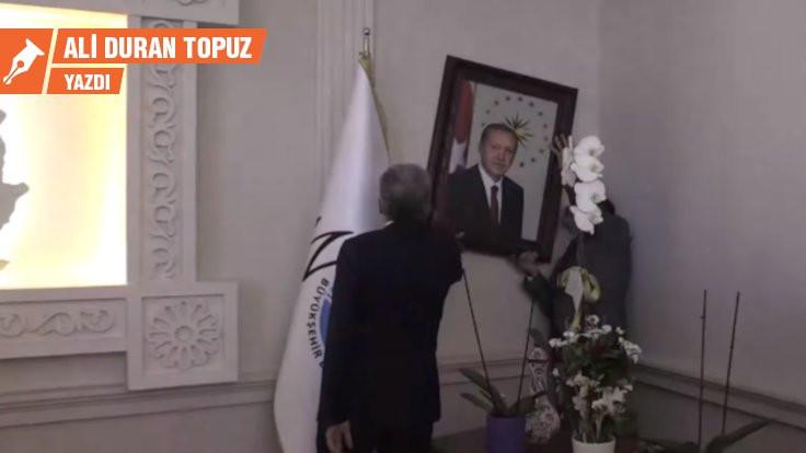 Her eve Erdoğan fotoğrafı asılsın