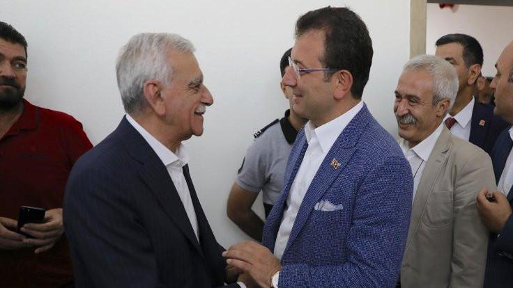 Ekrem İmamoğlu, Ahmet Türk ve Selçuk Mızraklı ile görüştü