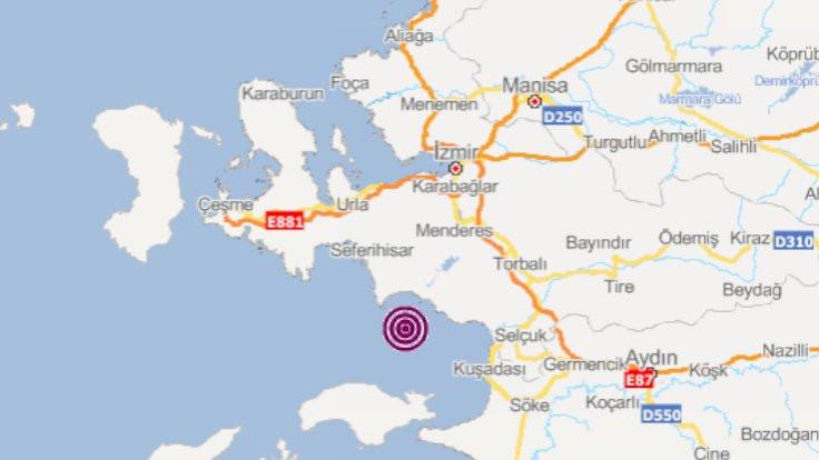 Ege'de ikinci deprem