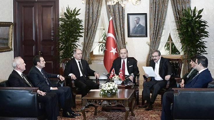Dolmabahçe'de oturma planını Erdoğan çizdi iddiası