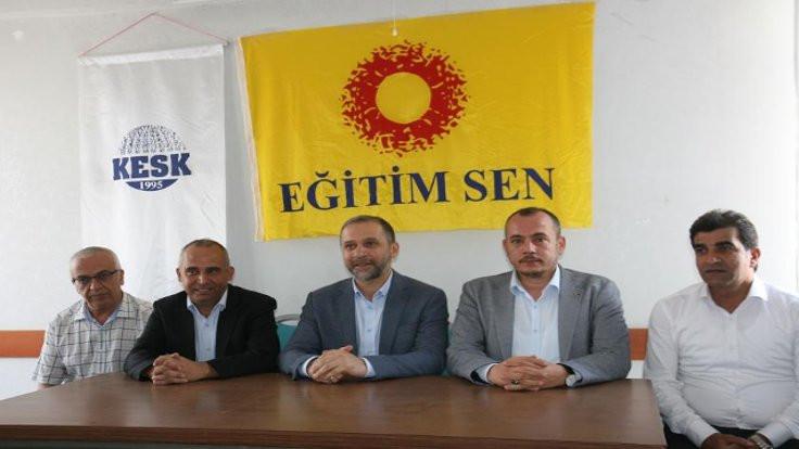 AK Parti'den Eğitim Sen'e ziyaret: Hatamız varsa...