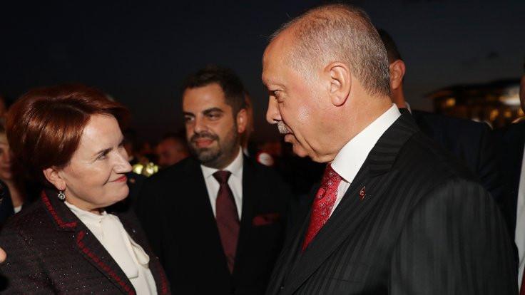 'Erdoğan ve Akşener hasbihal ettiler'
