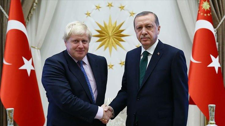 Erdoğan, Johnson'la İdlib'i görüştü