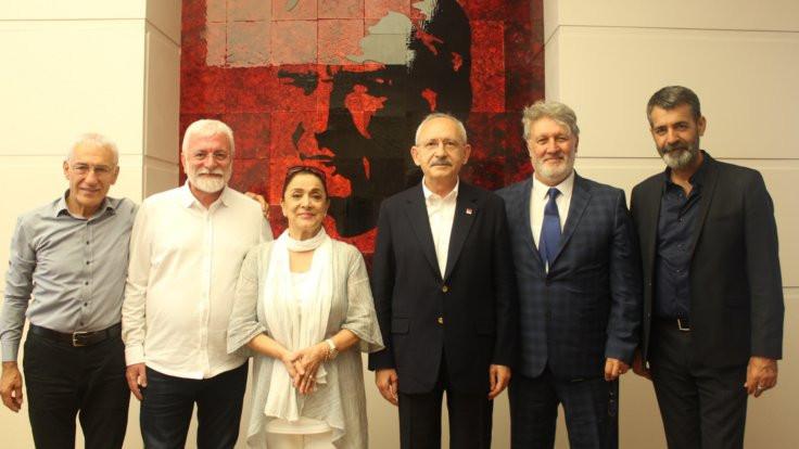 MÜYORBİR'den Kılıçdaroğlu'na ziyaret