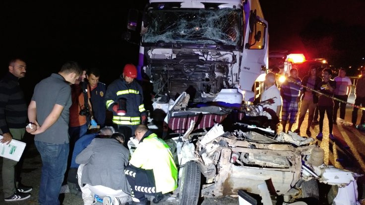 Konya'da kaza: 3 ölü