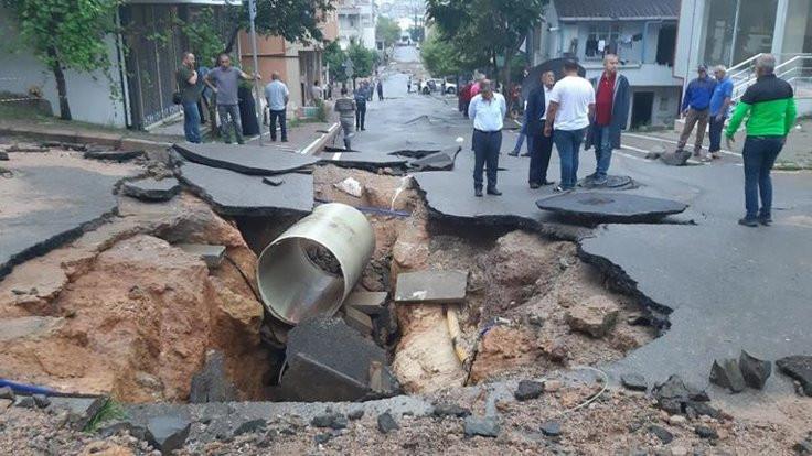 Kocaeli'de sağanak yağış