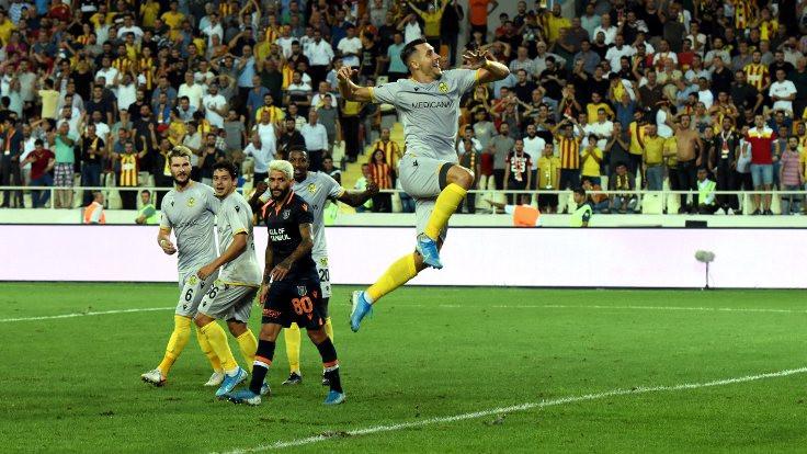 Yeni Malatyaspor farklı kazandı