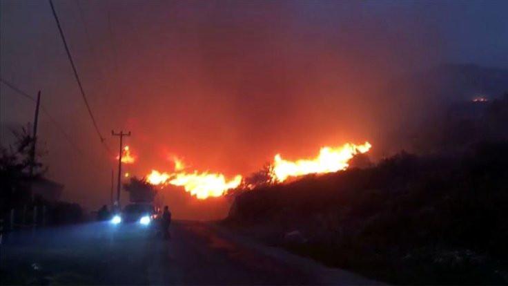 Marmara Adası'nda yangın kontrol altına alındı