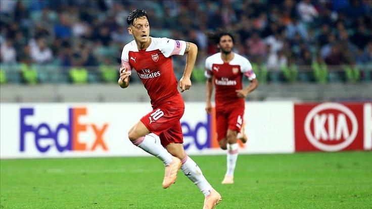 Arsenal: Özil'in paylaşımı kendi görüşü