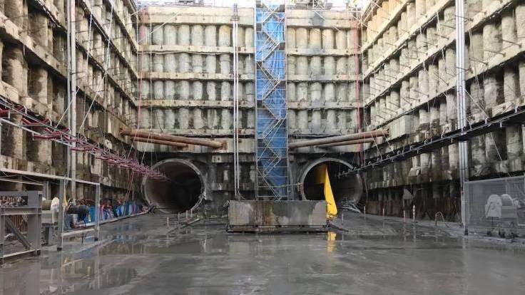 Şenbay havalimanı metro inşaatından çekildi
