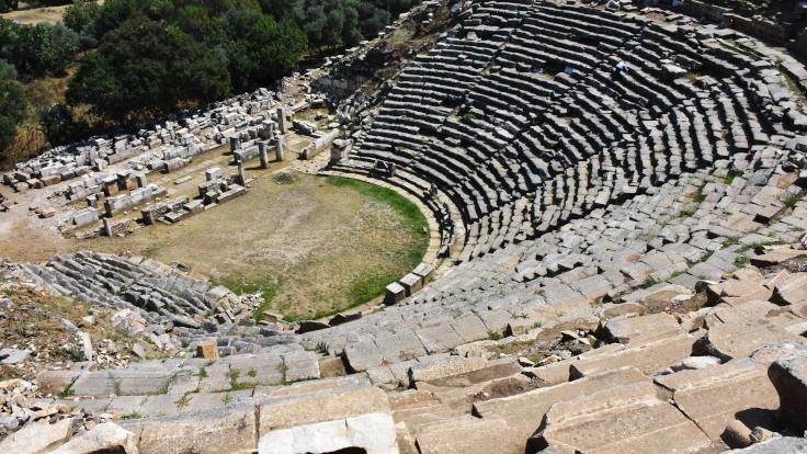2 bin 200 yıllık antik kent gün yüzüne çıkıyor