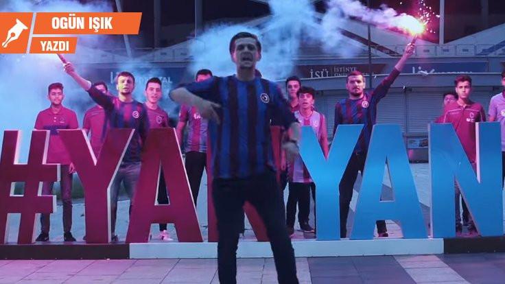 Rapçi Allame'nin Trabzonspor şarkısı