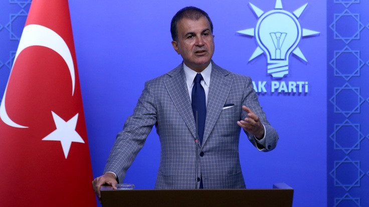 Çelik'ten Lübnan Cumhurbaşkanı'na: Tipik eziklik