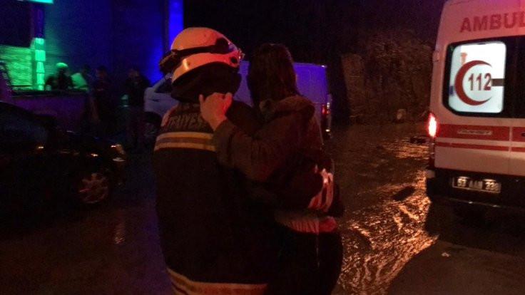Rize'de sel: 1 kişi kayıp