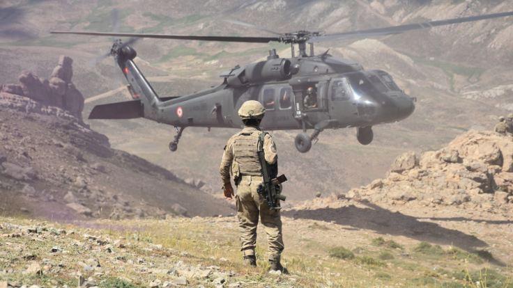 Şırnak'taki harekatta çatışma