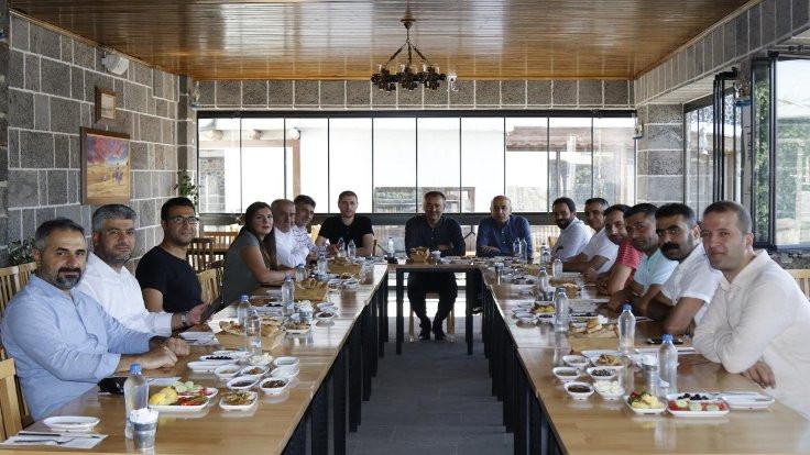 DTSO Başkanı Kaya kurum temsilcileri ile buluştu