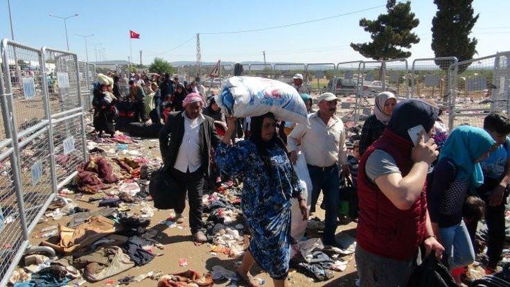 12 bin göçmen İstanbul'dan gönderildi