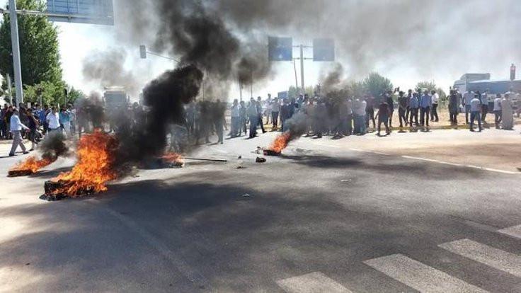 Harran'da pamuk eylemi