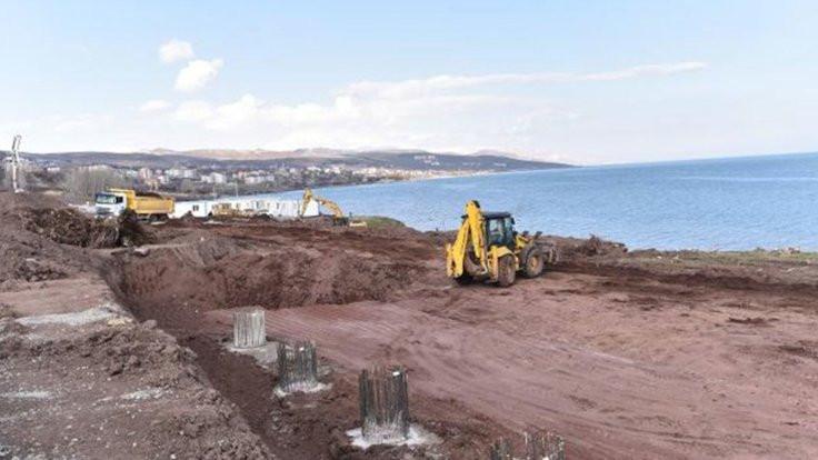 İptale rağmen köşk inşaatı devam ediyor